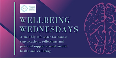 Wellbeing Wednesday:Discrimination,Islamophobia and the impact on wellbeing tickets