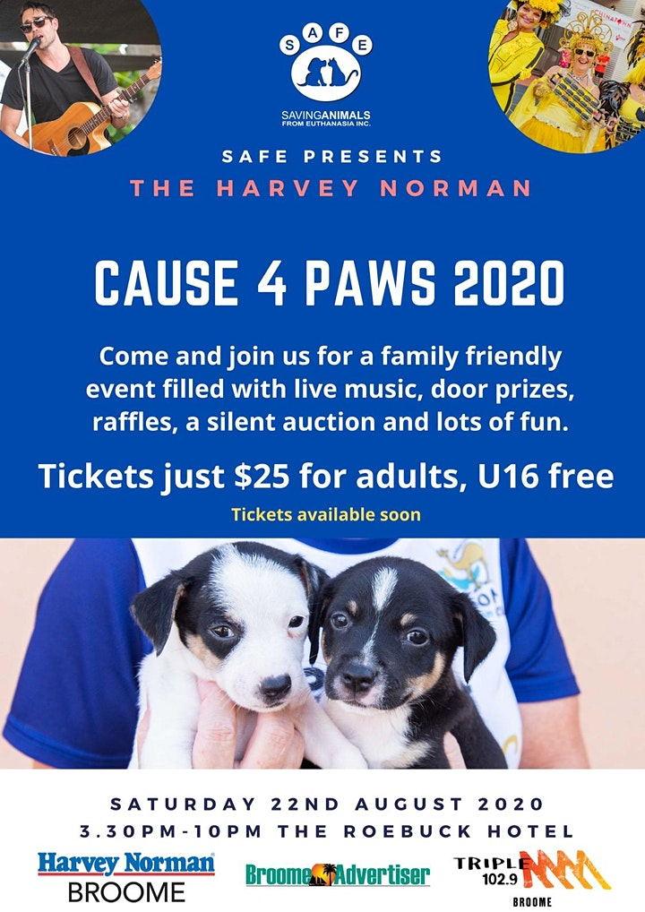 Harvey Norman Cause 4 Paws 2020 image