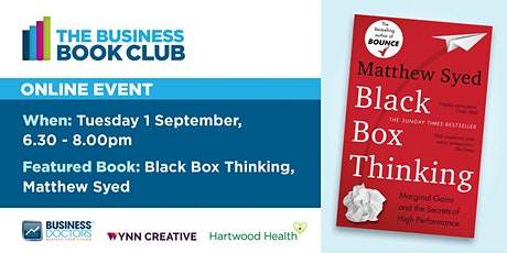 The Business Book Club. Business Doctors, Wynn Creative & Hartwood Health. tickets