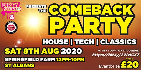 Comeback Party tickets