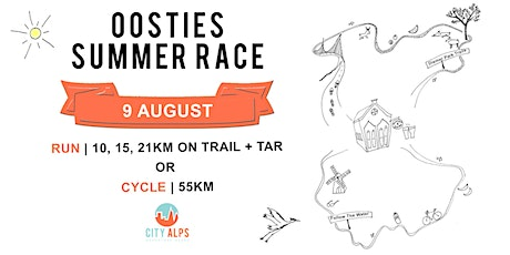 OOSTIES SUMMER RACE: RUN OR CYCLE tickets