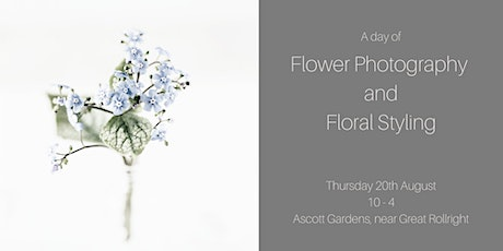 A Flower Photography + Styling Workshop | learn new floral and photo skills tickets
