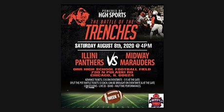 WEEK 1: ILLINI PANTHERS VS MIDWAY MARAUDERS (THE BATTLE OF THE TRENCHES) tickets