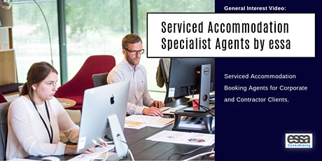 Working with Specialist Serviced Accommodation Booking Agents tickets