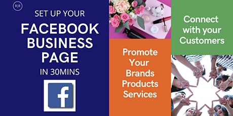 [Webinar] Set Up your Facebook Business Page & Connect with Customers (Sab) tickets