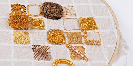 Goldwork Embroidery Workshop tickets