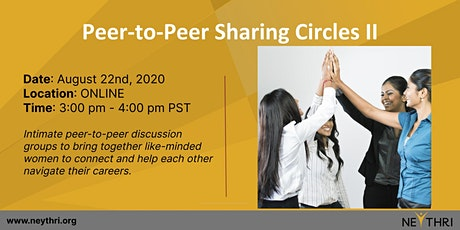 Peer-to-Peer Sharing Circles II tickets