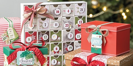 Stampin up 25 Days Christmas Countdown Calendar tickets