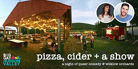 Pizza, Cider + a Show: A Night of Queer Comedy at Wilklow Orchards tickets