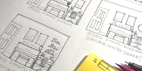 Designer's Table Online: Draw your Work From Home Space tickets