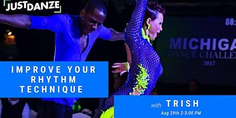 Rhythm Technique Workshop - with Trish tickets