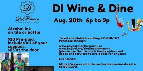 DiWine & Dine tickets