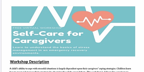 Self Care Workshop for Caregivers tickets
