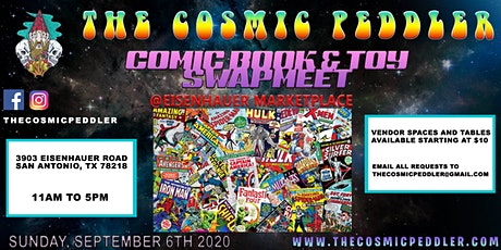 The Cosmic Peddlers Comic Book & Toy Swapmeet tickets