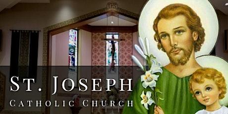 August 2020 Masses at St. Joseph tickets