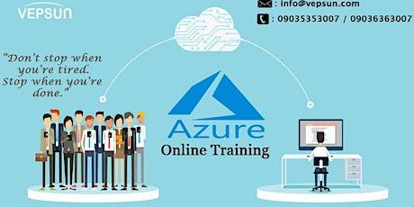 Microsoft Azure weekdays training at Vepsun Technologies (Register Free) tickets