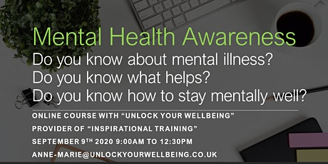 Mental Health Awareness Course tickets