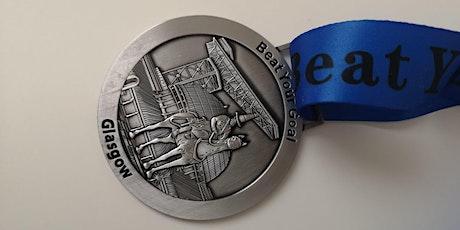 Virtual Running Event - Run 5K, 10K, 21K - Glasgow Medal entradas