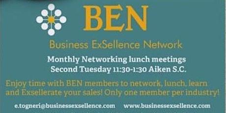 Copy of Business ExSellence Network (BEN) Aiken SC Monthly Lunch tickets
