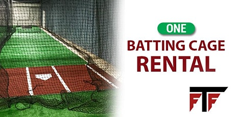 One Batting Cage Rental tickets