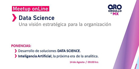 Meetup Data Science + Artificial Intelligence boletos