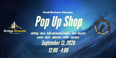 Small Business Saturday - Pop Up Shop tickets