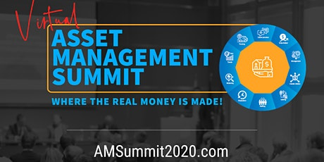 Multifamily Real Estate Investing - (Virtual) Asset Management Summit 2020 tickets