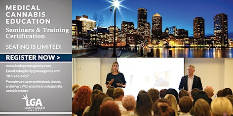 Massachusetts Responsible  Vendor  Dispensary Training (State Approved) tickets