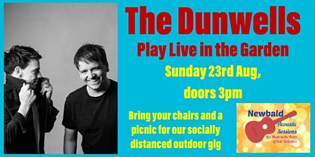 The Dunwells Live in the Garden tickets