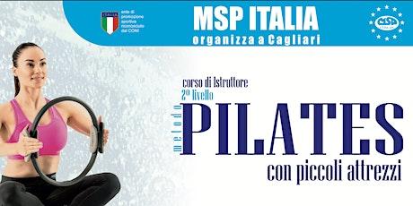 """CORSO MSP ITALIA """"ISTRUTTORE 2°LIV. PILATES PROPS """"(CON PICCOLI ATTREZZI) biglietti"""