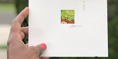 Tiny Abstract Watercolor Online Workshop tickets