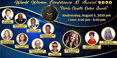 World Women Conference &  Awards 2020 - Florida Chapter Launch tickets