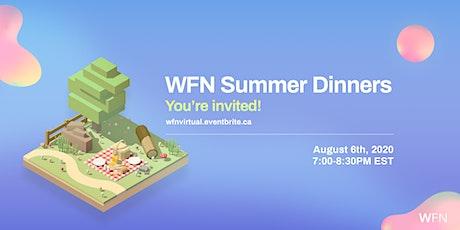 WFN Virtual Summer Dinner tickets