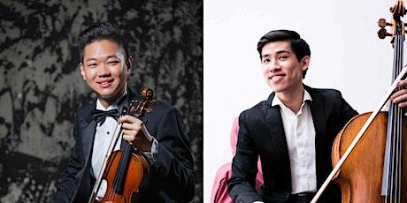 《雙弦英傑 張恆碩x陳品均》相約線上 Steven Chang, Violin X Pin-Jyun Chen, Cello biglietti