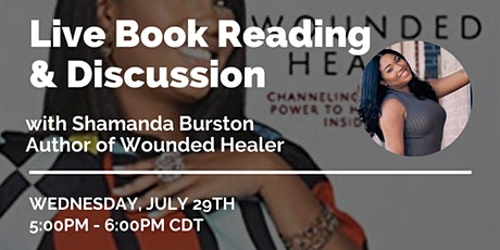 Mental Health Awareness Book Reading and Discussion: Wounded Healer tickets