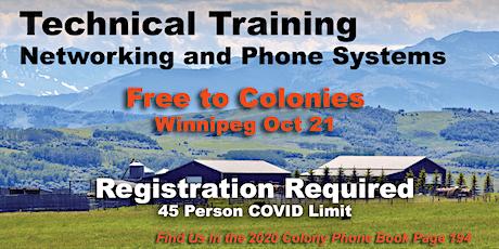 Hutterite VoIP Technical Training WINNIPEG - Free tickets