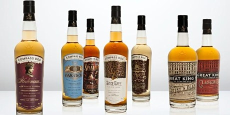 Jill Boyd is back for a virtual guided taste with Compass Box Scotch whisky tickets