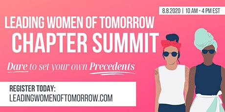 Leading Women of Tomorrow Chapter Summit 2020 Tickets