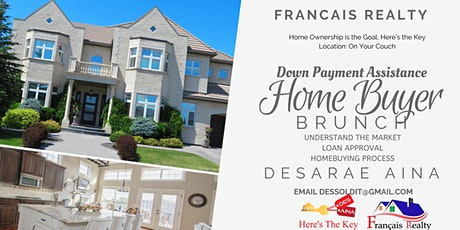 Down Payment Assistance Home Buyer Brunch tickets