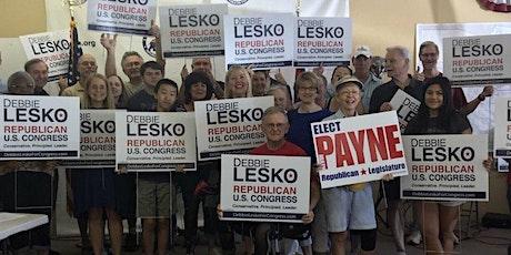 Lets Go Lesko! Debbie Lesko for Congress  Postcard Writing Meet Up! tickets