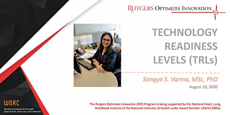 ROI-WORC: Innovators Bootcamp 201- Technology Readiness Levels (TRLs) tickets