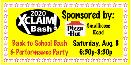 Xclaim!  Back to School Bash and Performance Party tickets