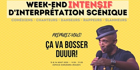 Stage d'interprétation scénique (Week-end intensif) billets