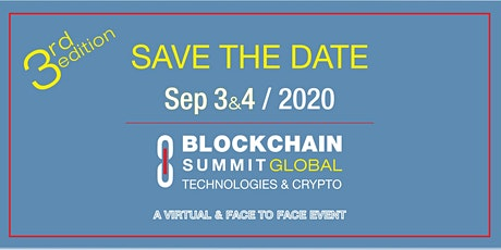 BLOCKCHAIN SUMMIT GLOBAL 2020 entradas