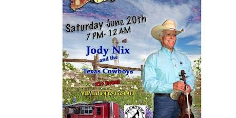 Jody Nix tickets