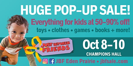 FREE Admission to JBF Eden Prairie Fall 2020 tickets