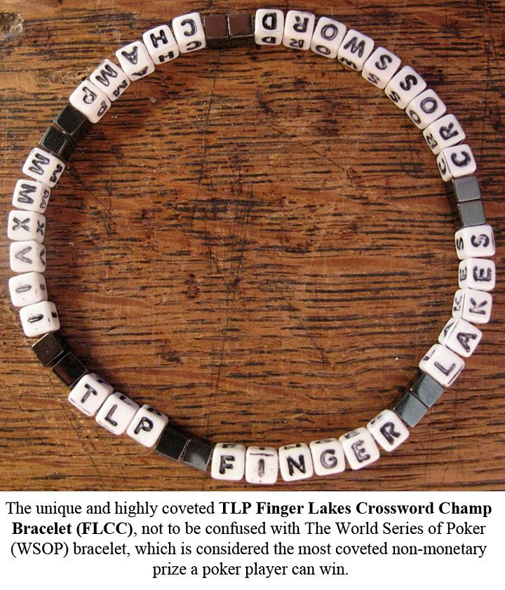 """Ninth Annual Finger Lakes Crossword and """"Honor"""" Competition image"""