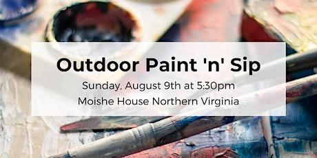 Outdoor Paint 'n' Sip tickets