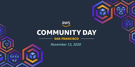 AWS Community Day, Bay Area, 2020 tickets