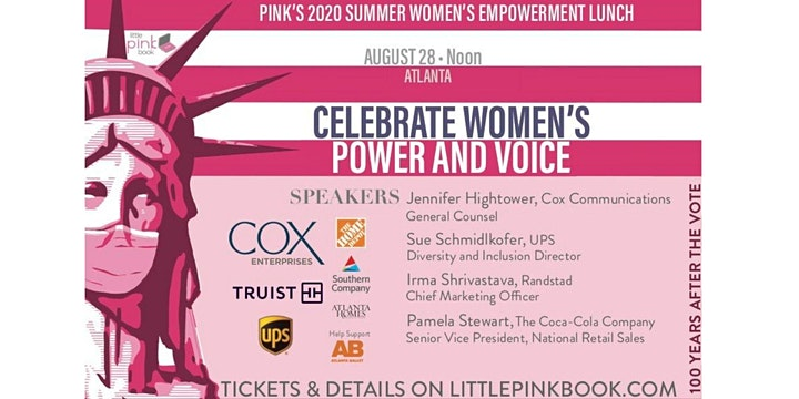 PINK's Summer Empowerment Event - Use Your Voice!  (FREE VIRTUAL EVENT) image